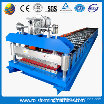 Baru Kedatangan Corrugated Aluminium Sheet Roll Forming Machine